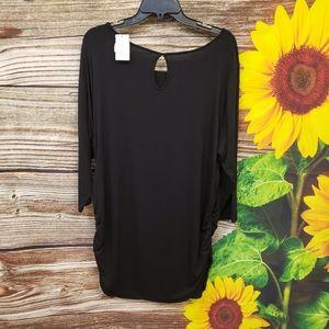 Motherhood Maternity dress Black suze 2X NWT